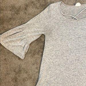 Criss cross top shirt